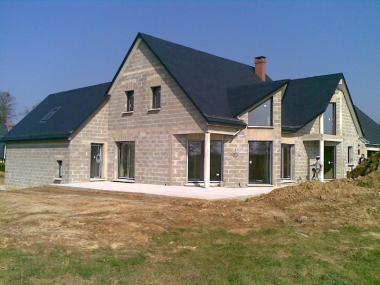 Construction et agrandissement de maison à Rouen