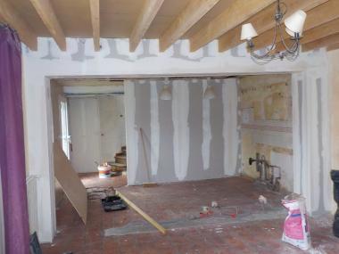Rénovation de maison et d'appartement à Rouen